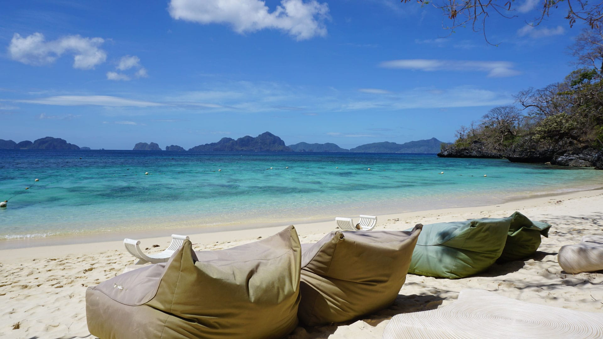 Seven Commando Beachone Of The Best Beaches In El Nido With White Fine Sand And Turquoise Clear Waters
